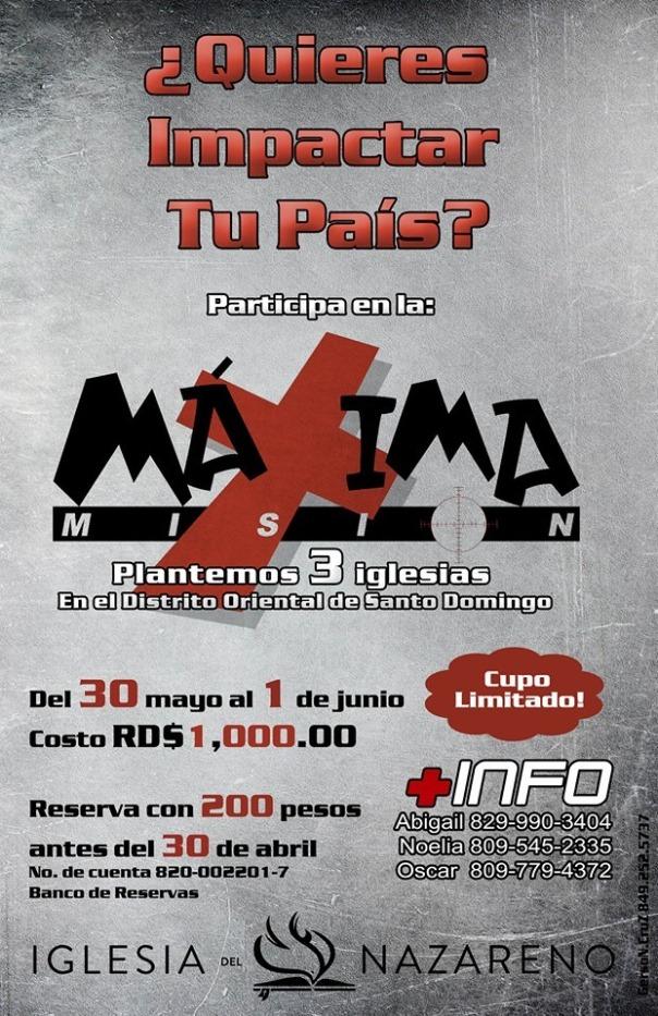 Afiche MM Santo Domingo 2014