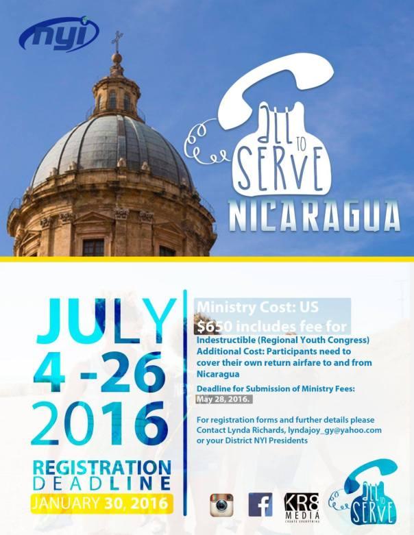 Called to Serve 2016 Nicaragua
