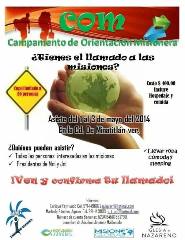 COM Minatitlán 2014