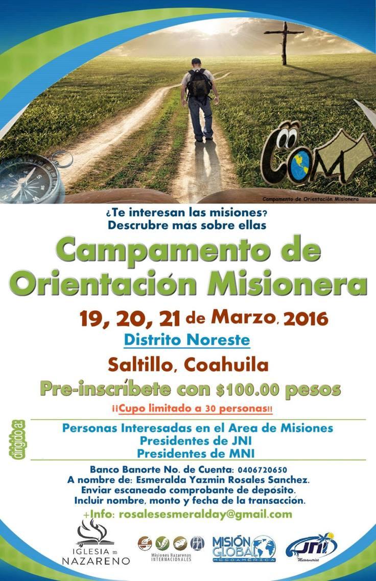 COM Saltillo 2016