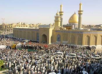 IRAQ-KARBALA-HAKIM