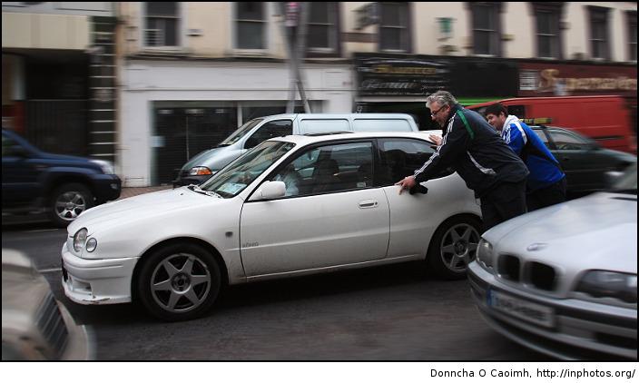 push-the-car