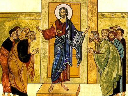 Jesús enviando Juan 20