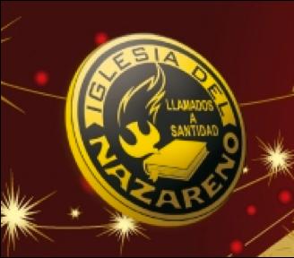Logo Iglesia rojo oro