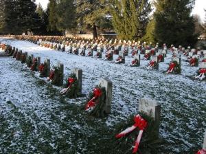 Foto actual del Cementerio Nacional en Gettysburg, PA, EEUU
