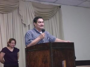 Superintendente Distrital Etán Alexander Bardales anima a los líderes del Noroccidente de Honduras