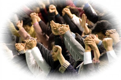 juntos orando