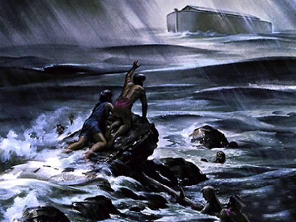 drowning ark