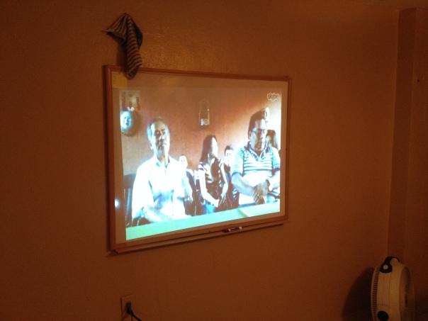 ...Y los misioneros se reunieron virtualmente con los líderes del sitio de Génesis en Veracruz.