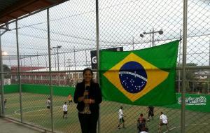 Gracias a Pamela Alvarado, nuestra reportera nazarena  cubriendo la Copa Mundial 2014.