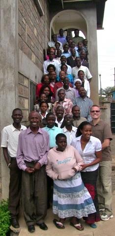 Contadores de historias certificados en el este de África