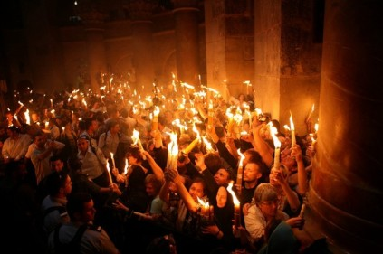 GALI TIBBON/AFP/Getty Images - Pascua en la Iglesia del Santo Sepulcro (Jerusalén)