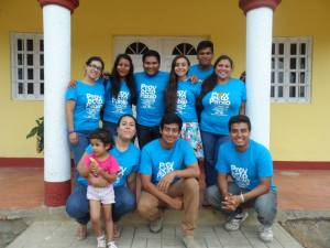 Freivy en Proyecto Pablo, Sur de México.