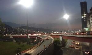 Parte de la ciudad de Monterrey