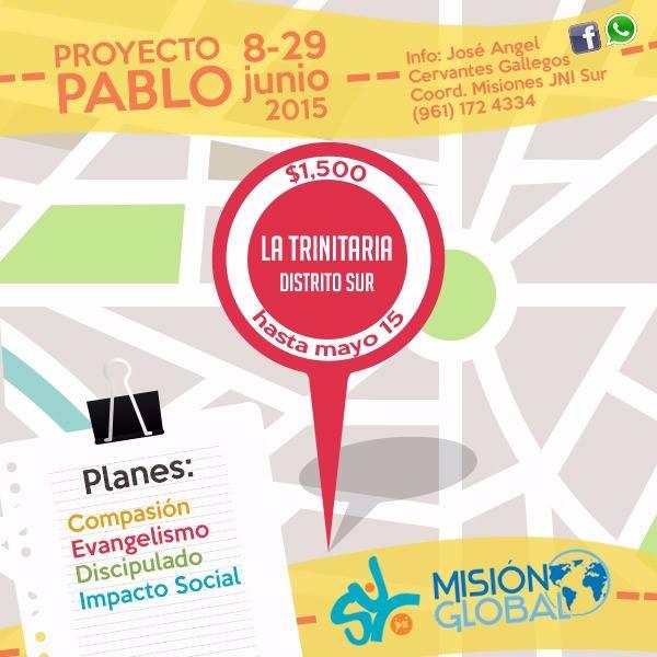 Proyecto Pablo La Trinitaria