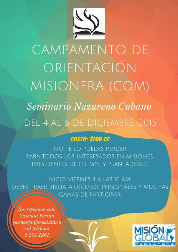 COM Cuba 2015