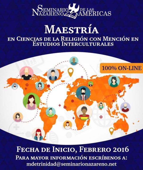 Maestría Estudios Interculturales SENDAS