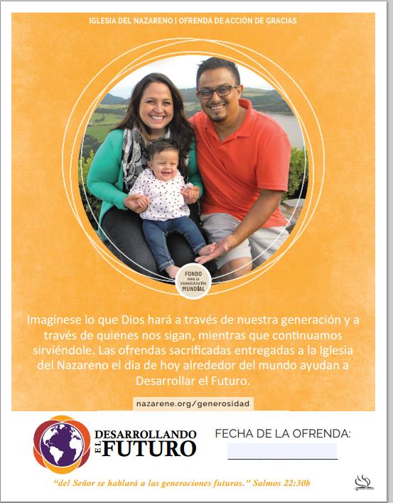 Ofrenda Acción de Gracias 2015