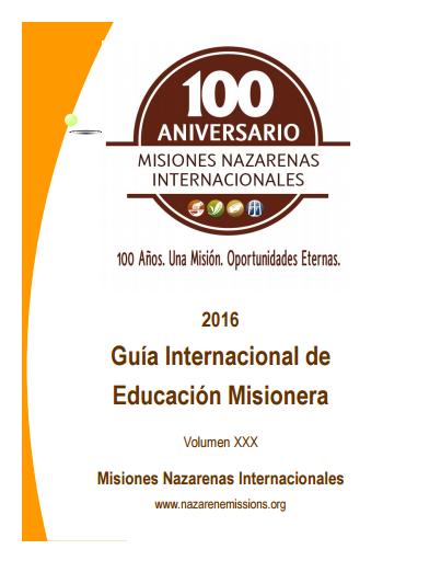 Misiones Nazarenas Internacionales   Transforma el Mundo