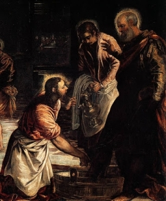 Jacopo_Tintoretto_-_Christ_Washing_the_Feet_of_His_Disciples_(detail)_-_WGA22428