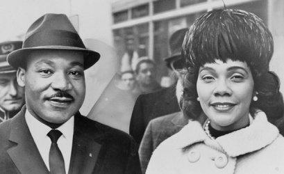 MLK & Coretta