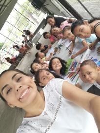 Marleidy selfie niños.jpg
