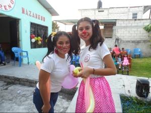 Alejandra y Victoria